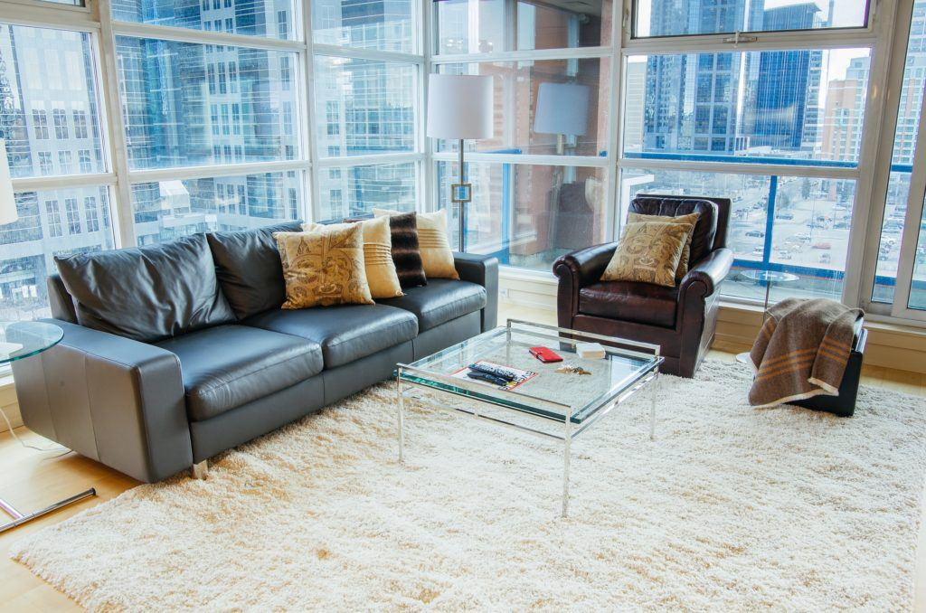 Fully-Furnished Condo, in Eau Claire Calgary