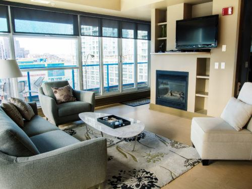 1 Bedrrom Furnished Suite Downtown Calgary