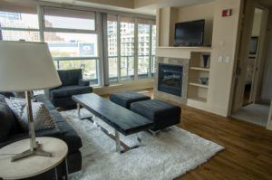 Furnished suite in downtown Calgary